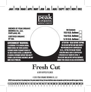 Peak Organic Fresh Cut May 2013