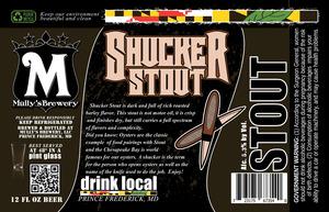 Shucker Stout May 2013
