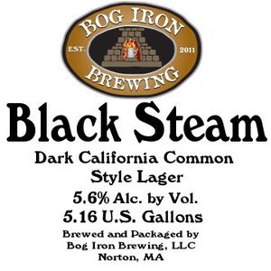 Bog Iron Brewing Black Steam May 2013
