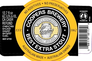 Coopers Best Extra Stout May 2013
