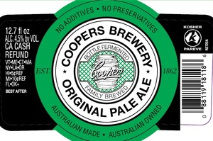 Coopers Pale May 2013