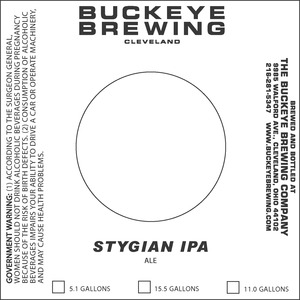Buckeye Brewing Stygian IPA May 2013