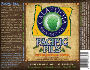 Pacific Pils May 2013