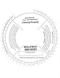 Bullfrog Brewery Le Roar Grrrz May 2013