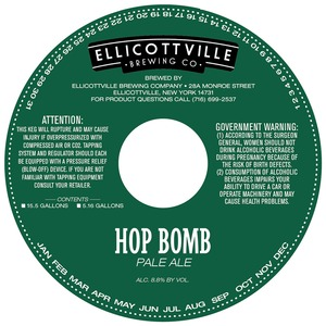 Ellicottville Brewing Company Hop Bomb May 2013