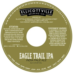 Ellicottville Brewing Company Eagle Trail IPA May 2013