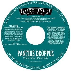 Ellicottville Brewing Company Pantius Droppus
