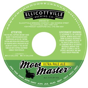 Ellicottville Brewing Company Mow Master May 2013