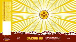 Santa Fe Brewing Co. Saison 88