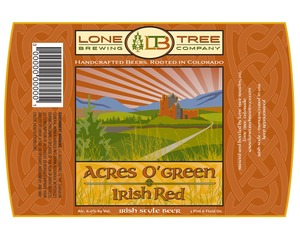 Lone Tree Brewing Company Acres O'green Irish Red May 2013