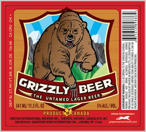 Grizzly Beer May 2013