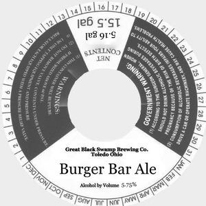 Burger Bar Ale May 2013