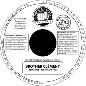 Brother Clement Belgian Style Wheat Ale