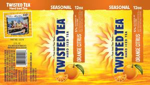 Twisted Tea Orange Citrus May 2013