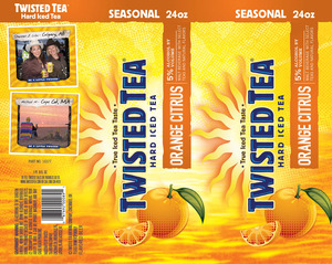 Twisted Tea Orange Citrus May 2013