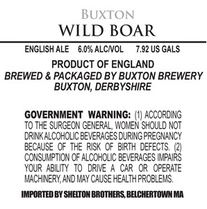 Buxton Brewery Wild Boar May 2013