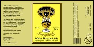 Borealis Fermentery White Throated Wit June 2013