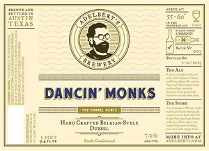 Adelbert's Brewery Dancin' Monks May 2013
