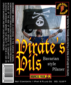 Figure Eight Brewing Pirate's Pils May 2013