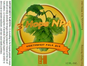 Two Harps Brewing Northwest Pale Ale May 2013