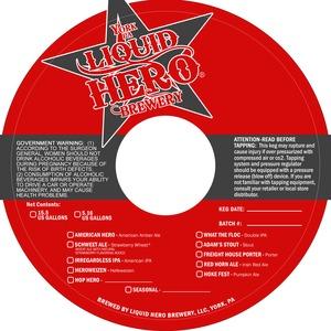 Liquid Hero Brewery Schweet Ale June 2013