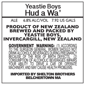Yeastie Boys Hud A Wa' May 2013