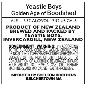 Yeastie Boys Golden Age Of Bloodshed