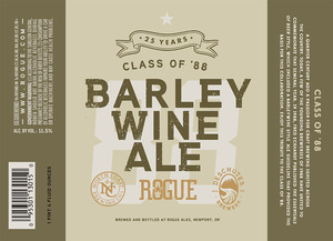 Rogue Class Of '88 Barleywine June 2013