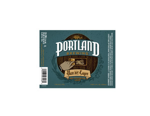 Portland Brewing Van De Lager May 2013