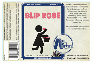 Blue Pants Brewery Slip Rose