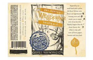 Odell Brewing Company Wellspring May 2013
