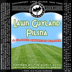 The Blind Bat Brewery LLC Lawn Guyland Pilsna June 2013