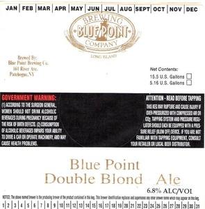 Blue Point Double Blond June 2013