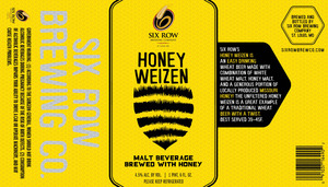 Six Row Brewing Company Honey Weizen June 2013