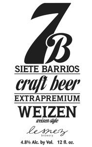 Siete Barrios Weizen Style June 2013
