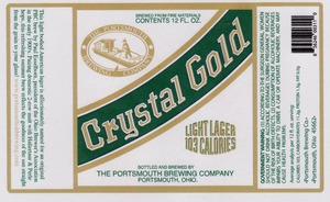 The Portsmouth Brewing Co. Crystal Gold