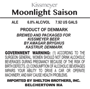 Kissmeyer Moonlight Saison June 2013