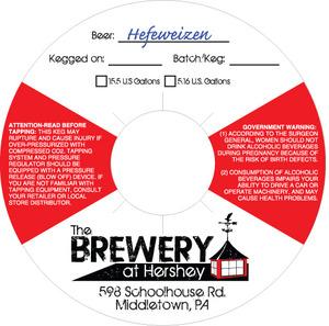 The Brewery At Hershey Heffeweizen