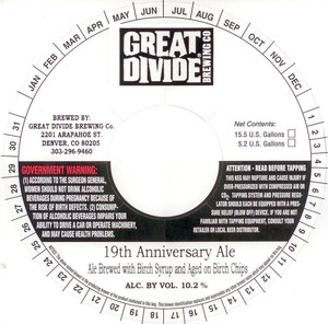 Great Divide Brewing Co 19th Anniversary June 2013