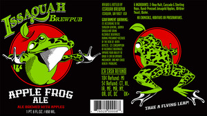 Issaquah Brewpub Apple Frog June 2013