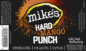 Mike's Hard Mango Punch June 2013