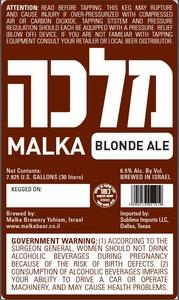 Malka Blonde June 2013