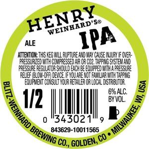 Henry Weinhard's Ipa June 2013