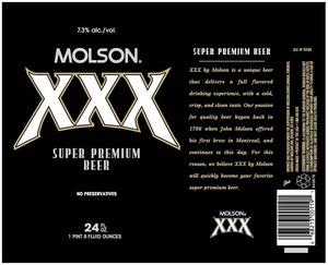 Molson Xxx June 2013