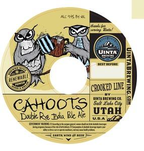 Uinta Brewing Company Cahoots June 2013