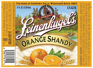 Leinenkugel's Orange Shandy June 2013