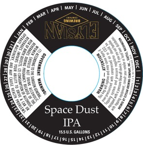 Elysian Brewing Company Space Dust June 2013