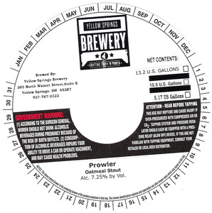 Yellow Springs Brewery Prowler