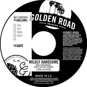 Golden Road Brewing Mildly Handsome