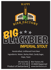 Rappi Bier Factory Big Blackbier